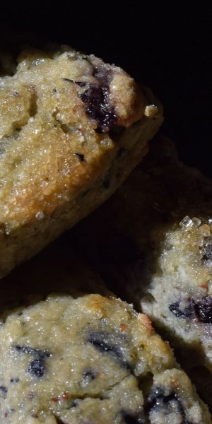Lemon Blueberry Scone senza glutine by carmela